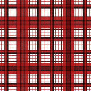 Flannel Plaid ~ Sleigh Ride