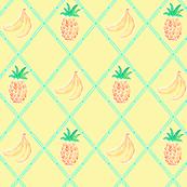 Pinapple Banana Diamonds - Lemon