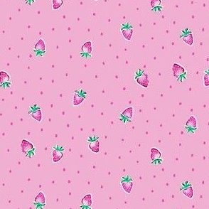 Strawberry Dots - Pink