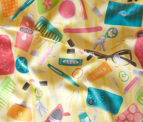 Bag O' Stuff on Yellow