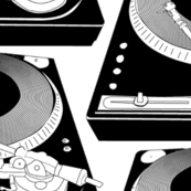 Black&White turntables