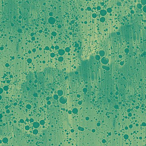 green-gold ink splatter