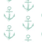 Anchors Large - seafoam