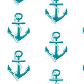 Anchors Large - turqoise