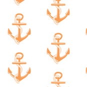 Anchors Large -tangerine