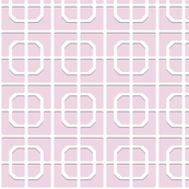 Swan Park Lattice in soft pink