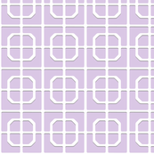 Swan Park Lattice in light purple