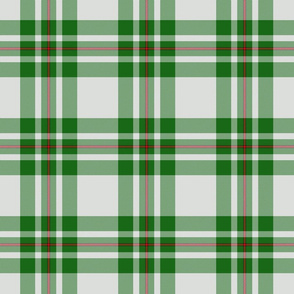 MacGregor dress green tartan
