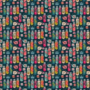 Tea thermos - Vintage Florals (Mini Version) by Andrea Lauren