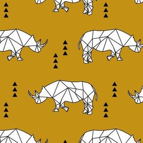 Geometric Rhino // myan