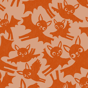 Halloween Bats in pumpkin