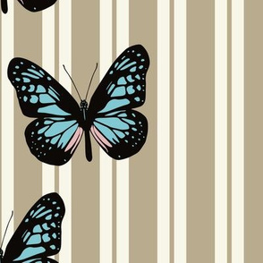 Butterflies Stripe