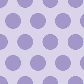 Wonderland Big Dots Purple