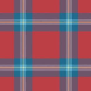 MacLaine tartan, blue variation