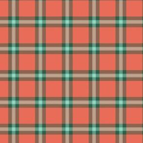 "small (1.5"") MacLaine weathered tartan"