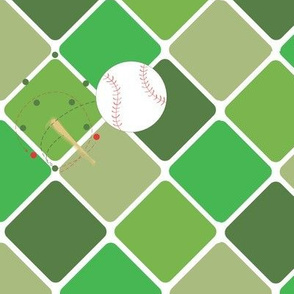 High Ball diamond green