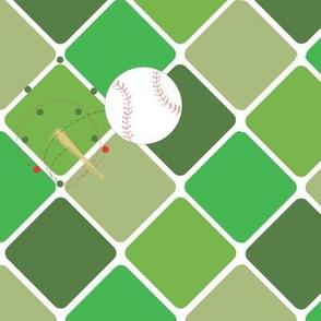 High Ball diamond green