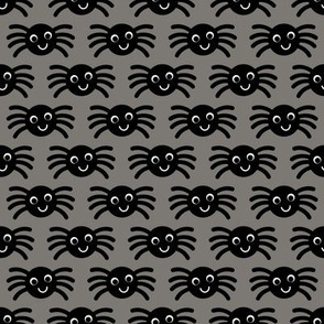 Gray Smiley Spiders