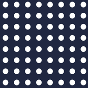 Polka Dotty in Atlantic Navy