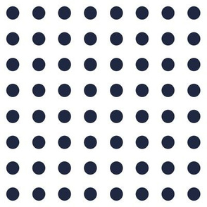Polka Dotty in White