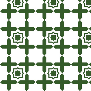 Geometric Tile FOREST