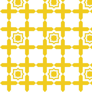 Geometric Tile LEMON