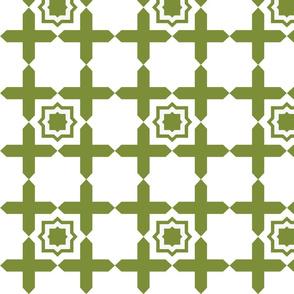 Geometric Tile OLIVE