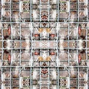 grid   -  brown grey