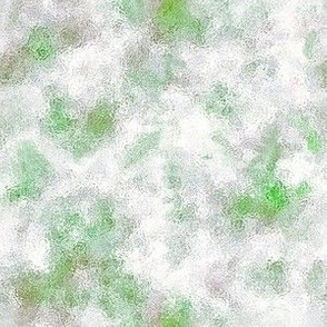 watercolor blender green white