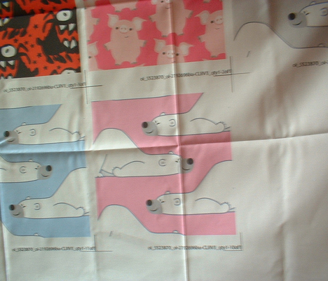 Cute Funny Cartoon Polar Bears Pink by Cheerful Madness!!