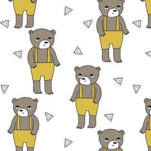 Teddy Bear - Mustard by Andrea Lauren