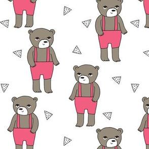 Teddy Bear - Pink by Andrea Lauren