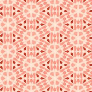 Sea Coral Faux Tie Dye