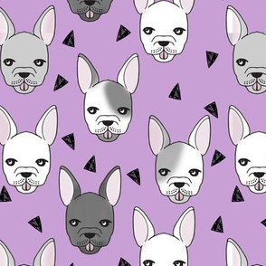 French Bulldog - Wisteria by Andrea Lauren