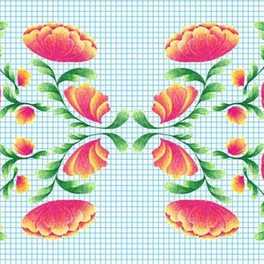 Graph Paper Botanical