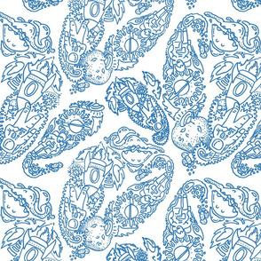 Paisley - Cosmic Paisley Blue