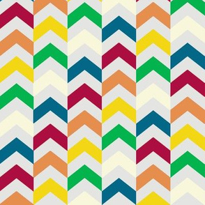 Multi-colored Chevrons