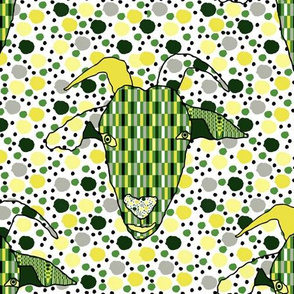 Goat on Dots