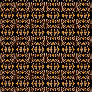 Bat Wings 2 Gold Black