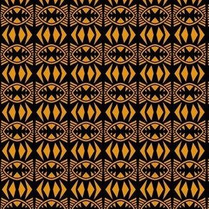Bat Wings 1 Gold Black