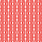 Holiday Joy Ripples Red White