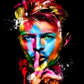 david_bowie pop art