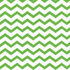 Chevron apple green