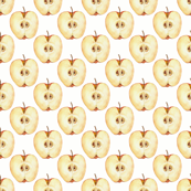 Pattern with apple slice