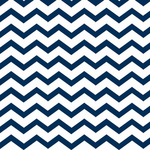 Chevron deep navy