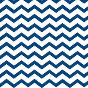 Chevron navy