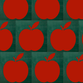 Apples on the Chalkboard