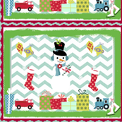Frosty Holiday Quilt LG