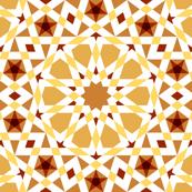decagon stars : terracotta coffee
