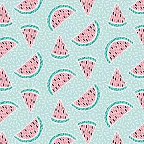 Confetti Melons - mint